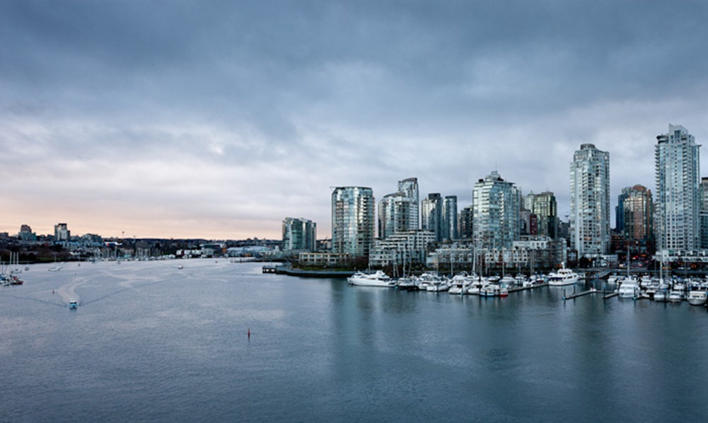 The downtown Vancouver, BC, skyline on Saturday, Feb. 18, 2012. (Photo/Neil Enns)